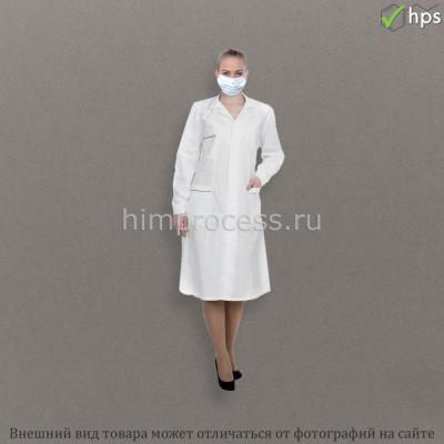 Халат медицинский бязь женский