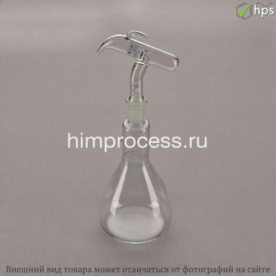 Прибор для отмеривания серной кислоты с дозатором