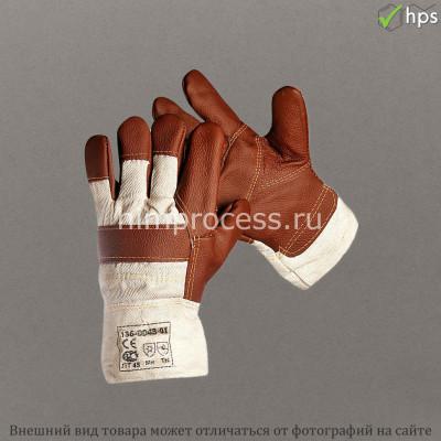 Перчатки кожаные защитные