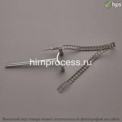 Лапка-зажим цепной хромированный 80-150мм