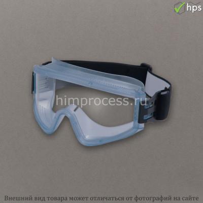 Очки ЗП2 PANORAMA Nord (PC) защитные закрытые с прямой вентиляцией