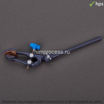 Лапка для штатива с 4 пальцами с переменным углом 0-80 мм серая